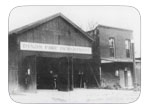 Dixon Fire Dept. and Jail, photo circa 1921 - Firehouse built in 1891. The jail built in 1898