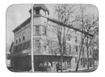 The capitol hotel, circa 1918 - The original hotel on this site was the city hotel built in 1876, owned by the Frahm Bros., in 1895. Mrs. Morrix bought the building and removed it to build the Vendome i.e. capitol hotel. Mrs. Morris met and married a San Francisco man, but on going to live with him in S.F. discovered he was a bigamist. The capitol eventually ended up in the hands of the Dawson bros. Who owned it at the time it burned to the ground in 1920.